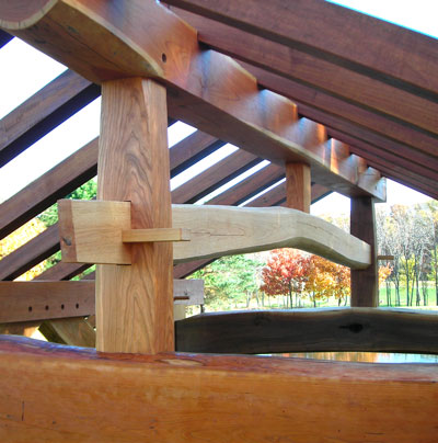 into the woods timber frame gazebo for sale sold david yasenchack timber framing and design