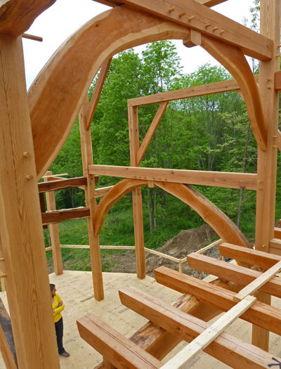 A Home For The Starrs David Yasenchack Timber Framing