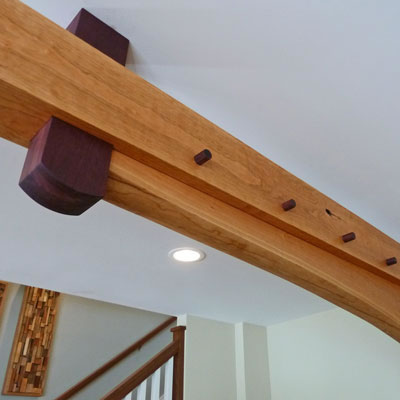 Interior Timber Accents David Yasenchack Timber Framing